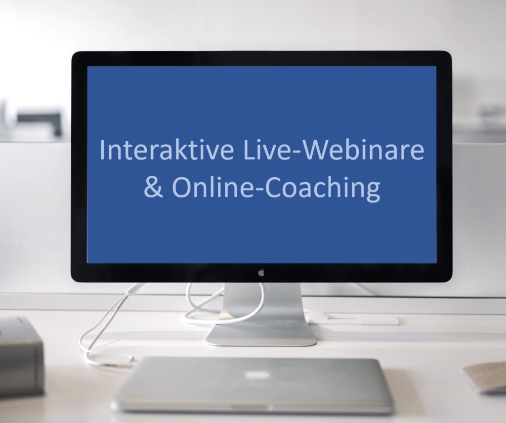 Interaktive Live-Webinare & Online-Coaching 2